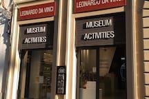 Museum of Leonardo Da Vinci at 30 meters from my apartment
