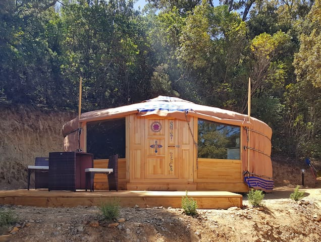 Yurt Glamping in Sardinia