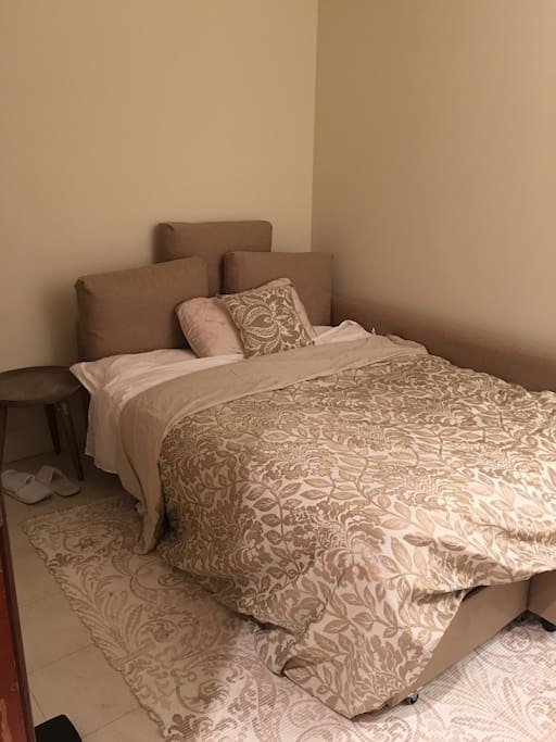 Bed available