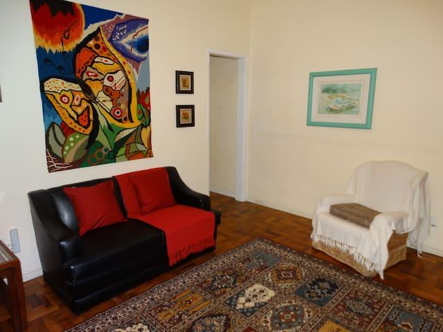 Confortável apartamento no centro histórico - Petrópolis - Flat