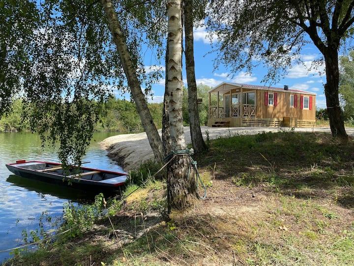 Lodge Le Châlet -Domaine Étangs de la Bassée 26 ha