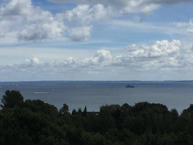 Entspannen mit Meerblick an der Lübecker Bucht - Sierksdorf - Rumah liburan