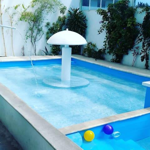 Casa Pecas Tepotzotlán Limpieza y seguridad