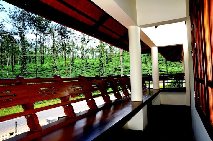 Stay amidst the tea gardens - Meppadi