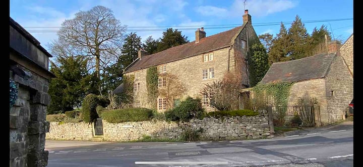 Country house set in private estate of Tissington