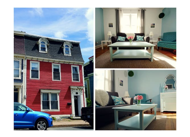 Light-filled historic downtown home. - St. John's - Apartamento