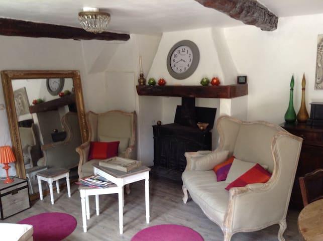 Comme à la maison,maison de village