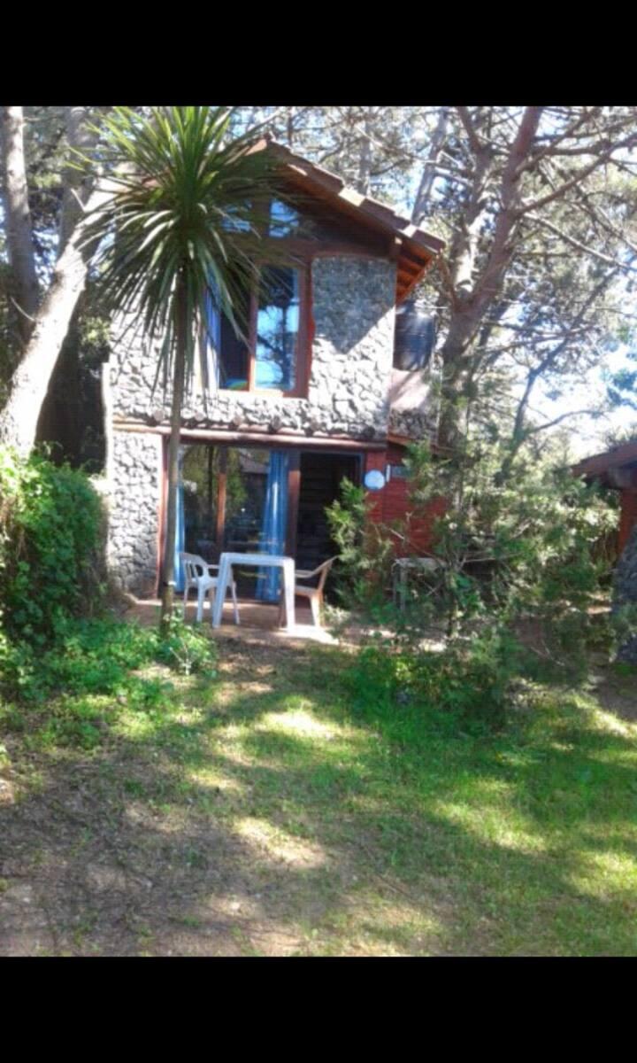 Cabaña Mar Azul 3. A 2 cuadras de la playa