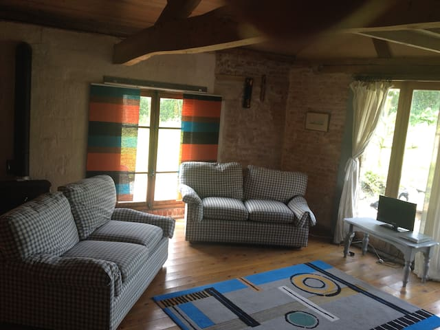 Small Barn / village Saulchoy in l'authie valley - Saulchoy - Appartement