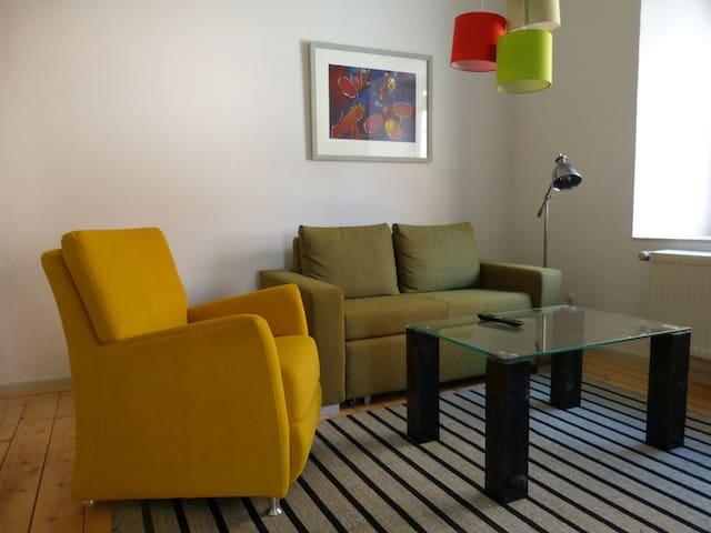 Husum-mittendrin - Husum - Apartamento