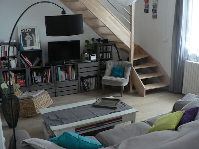 maison proche centre ville 6 pers - Bourges - Casa
