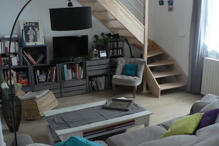 maison proche centre ville 6 pers - Bourges - House