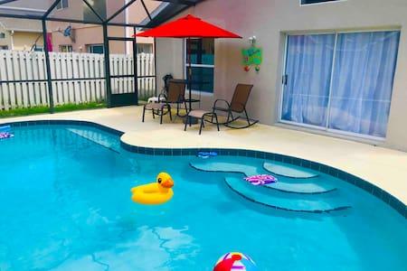 Orlando Poolside Oasis