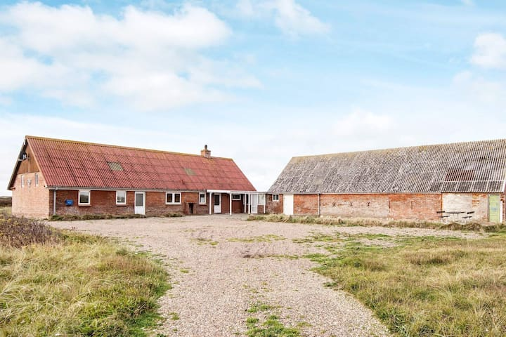 Spacious Holiday Home in Jutland Near North Sea Beach