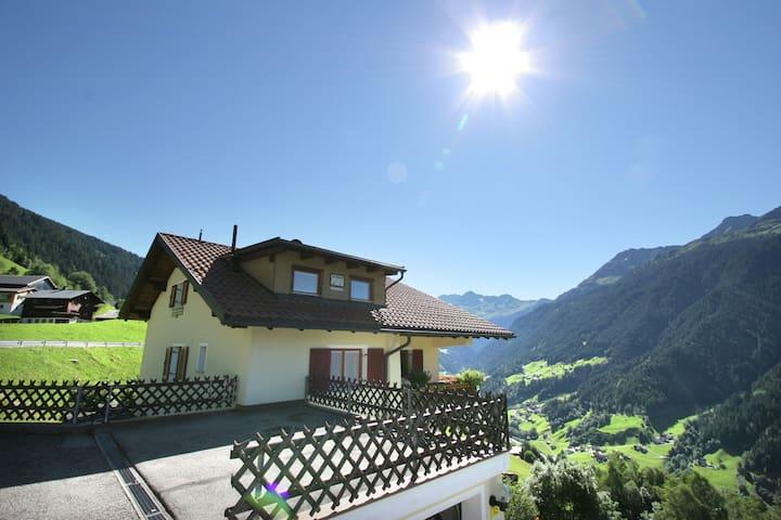 Cozy Apartment in Bartholomäberg Vorarlberg with garden