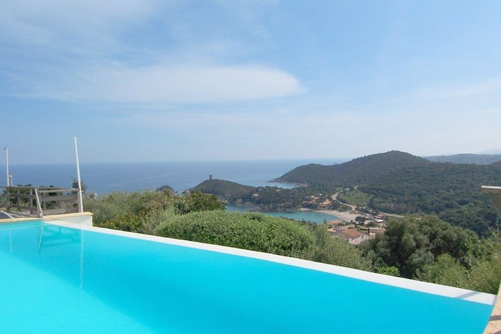 CAROLE F3-POOL-SEA VIEW- 3***
