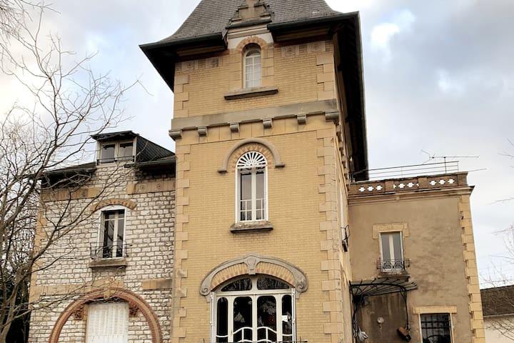 Chambre privée au sein de la Villa Fougeraie