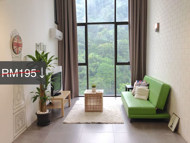 [PROMO]Duplex LoftSuite EMPIRE soho2 - Petaling Jaya - Çatı Katı