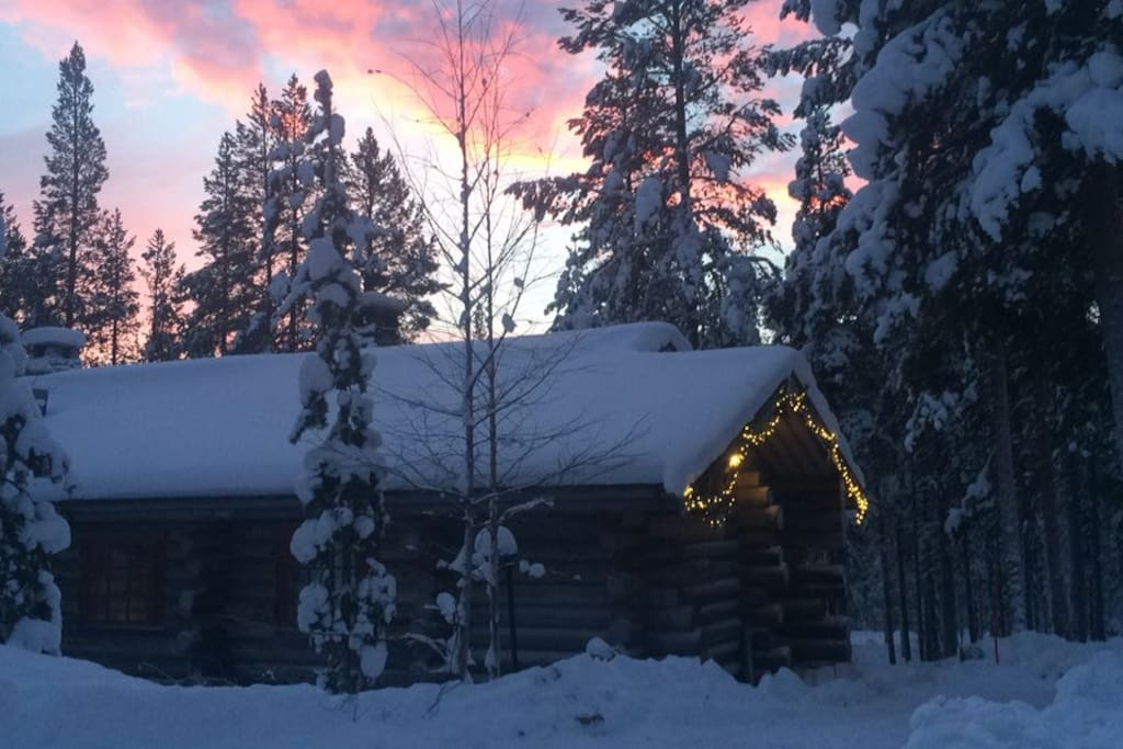 Your hideaway in Finnish Lappland:)