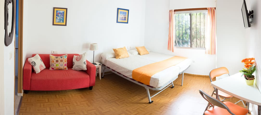 Cozy apt on the best neighbourhood of Málaga! - Málaga - Apto. en complejo residencial