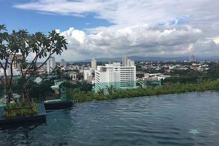 1BR near Night Bazaar& Chiang Mai town/Brand new - Chiang Mai - Appartement