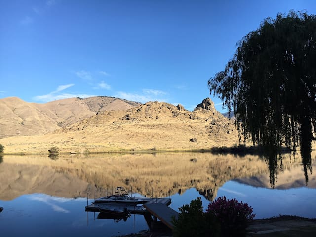 Waterfront Home at Turtle Rock & Lake Entiat