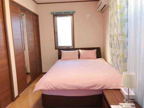 家縁旅館202号(高尾山,昭和記念公園最寄リの旅館)