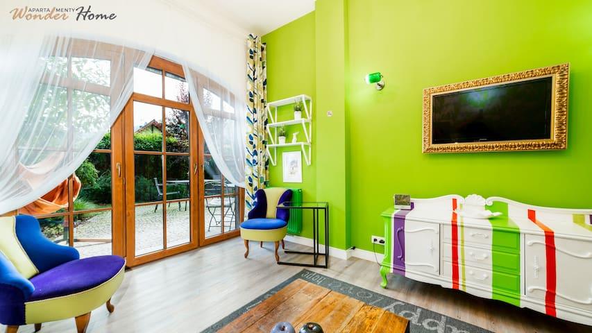 Apartamenty Wonder Home - Z Zielonym Tarasem
