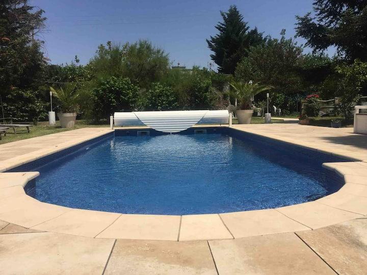 Ariège Villa entière piscine + pool house de 80 m2
