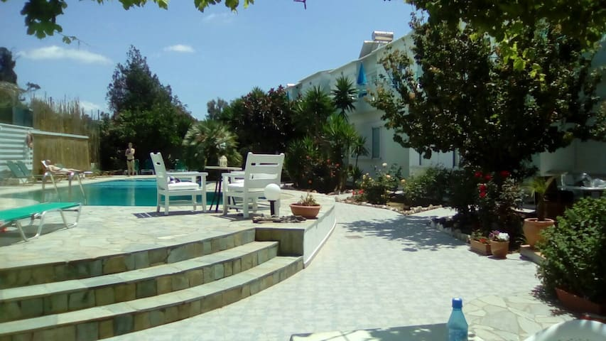 Seashell apartments for rent - Pirgos Psilonerou