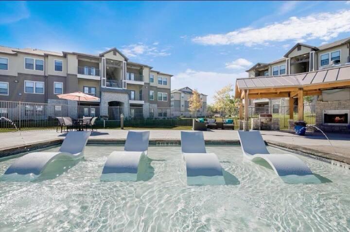 A beautiful clean modern San Antonio Apartment.