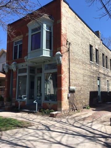 Brady Street Neighborhood Apartment