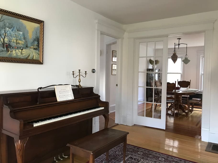 From entryway in to Living Room