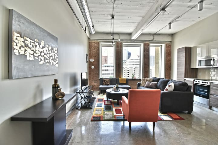 Corporate 1 Bd Apt ideal for long term stay/Park