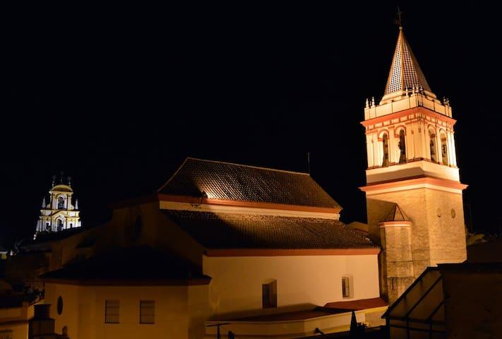 Bonita habitación con terraza en casco histórico. - Sevilla - Departamento