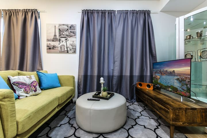 A13-Eclectic Studio Apt@Darling Harbo+Free Parking