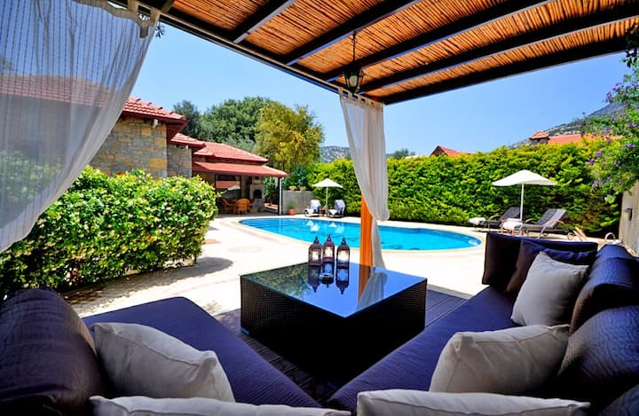Secluded Family Villa with Private Pool