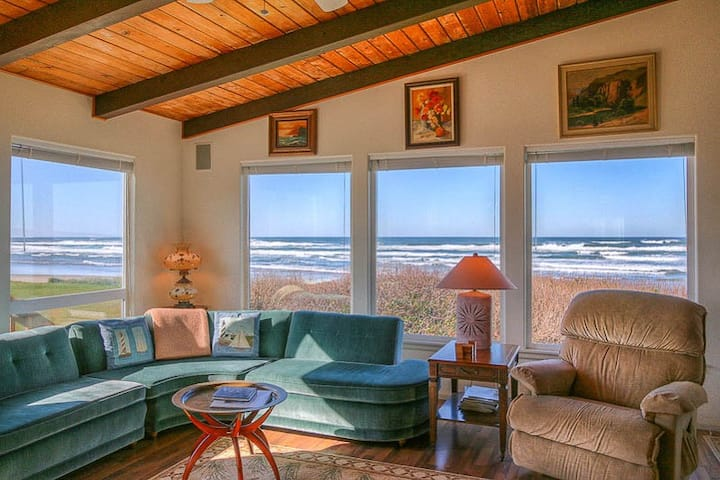 Sweeping Ocean Views From This Beautiful Home with Beach Access Close By!