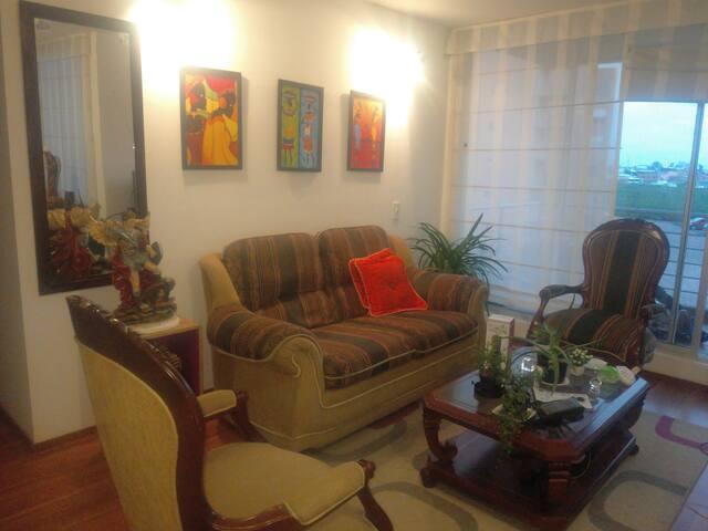 Habitación Condominio, confortable.