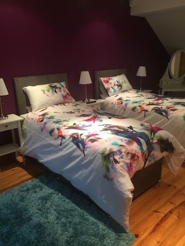 Luxurious twin room - Hessle - Hus