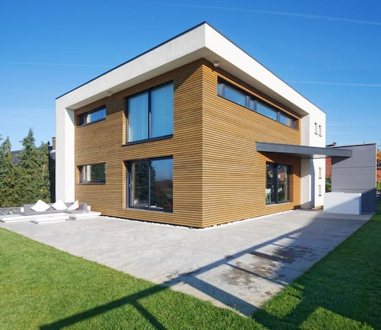 Villa contemporaine dans le Brabant wallon