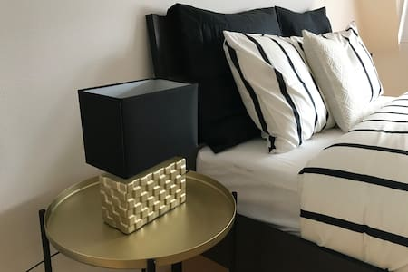 Gold & Black Luxury Bedroom