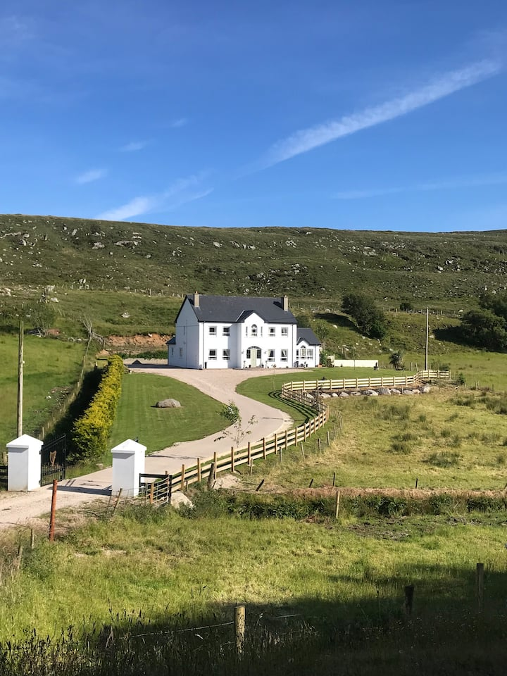 Country home situated on the wild Atlantic way