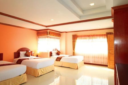 Triple Double Family Bed - Ao Nang - Vila