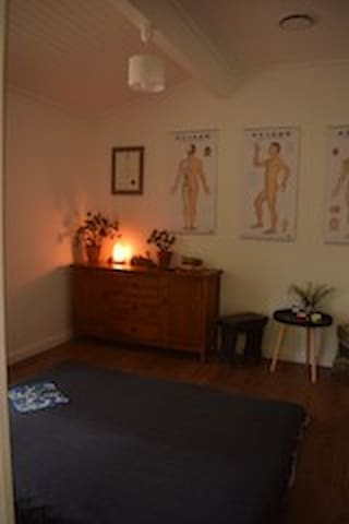In house shiatsu massage available in our wellbeing space