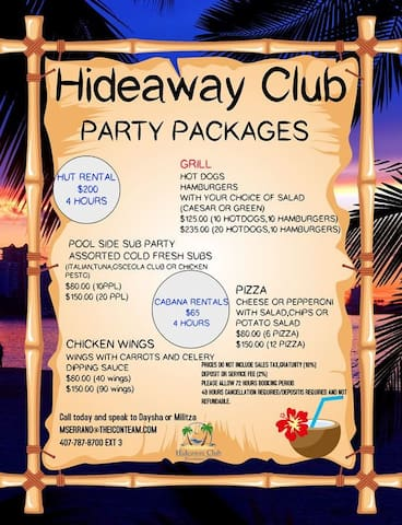 Party Packages!
