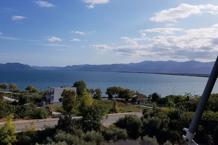 Lovely apartment with sea view Nea Anchialos