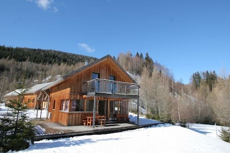 Alpine Chalet with Sauna, Sleeps 8 (max 6 adults)