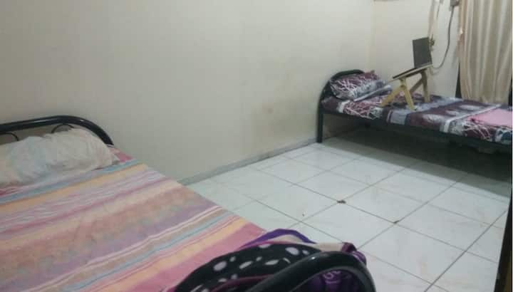Decent Indian Room/Bed for Families or Bachelors