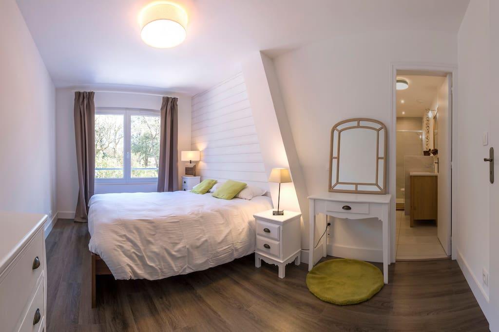 brevocean chambre cosy tr s calme proche ocean chambres d 39 h tes louer saint brevin les. Black Bedroom Furniture Sets. Home Design Ideas